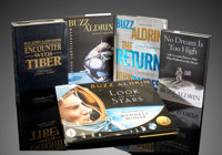 Group of 5 Signed Buzz Aldrin Books  ... (Total: 5 Items)