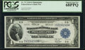 Large Size:Federal Reserve Bank Notes, Fr. 717 $1 1918 Federal Reserve Bank Note PCGS Superb Gem New 68PPQ.. ...