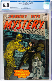Journey Into Mystery #47 (Marvel, 1957) CGC FN 6.0 Off-white pages