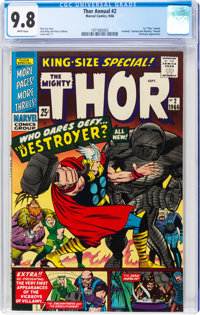 Thor Annual #2 (Marvel, 1966) CGC NM/MT 9.8 White pages