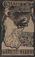 """Movie Posters:Rock and Roll, Country Joe at Retinal Circus (Magic Theatre, 1967). Fine/Very Fine. Concert Window Card (14"""" X 23"""") Eric Fisher Artwork. Ro..."""