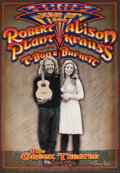 Movie Posters:Rock and Roll, Robert Plant and Alison Krauss at The Greek Theatre (Another Planet Entertainment, 2008). Very Fine+. Autographed Concert Po...