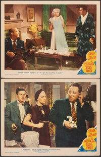 """The Postman Always Rings Twice (MGM, 1946). Overall: Very Fine-. Lobby Cards (2) (11"""" X 14""""). Film Noir. ... (..."""