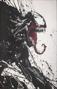 """Venom (Columbia, 2018). Rolled, Very Fine+. Bus Shelter (48"""" X 72"""") SS Advance. Action"""