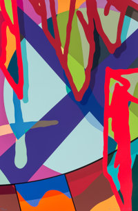 KAWS (b. 1974) Untitled, from Tension, 2019 Screenprint in colors on Saunders Waterford paper 35 x 23 inches (88