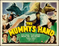 """Movie Posters:Horror, The Mummy's Hand (Universal, 1940). Fine/Very Fine. Title Lobby Card (11"""" X 14"""").. ..."""