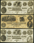 Obsoletes By State:Virginia, Charleston, VA- Farmers Bank Spurious $5; Spurious $10 Oct. 4, 1854 S8; S10 J-L BC10-05; BC10-10 About Uncirculated; Extre... (Total: 3 notes)