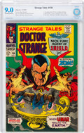 Silver Age (1956-1969):Horror, Strange Tales #156 (Marvel, 1967) CBCS VF/NM 9.0 Off-white to white pages....