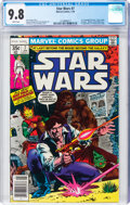 Bronze Age (1970-1979):Science Fiction, Star Wars #7 (Marvel, 1978) CGC NM/MT 9.8 White pages....