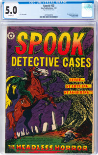 Spook #22 (#1) (Star Publications, 1953) CGC VG/FN 5.0 White pages