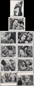"""Movie Posters:War, Fear and Desire (Joseph Burstyn Inc., 1953). Very Fine. Photos (8) & Behind-the-Scenes Photos (2) (8"""" X 10""""). War.. ... (Total: 10 Items)"""