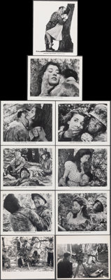 "Fear and Desire (Joseph Burstyn Inc., 1953). Very Fine. Photos (8) & Behind-the-Scenes Photos (2) (8"" X 10""..."