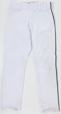 Baseball Collectibles:Uniforms, 2008 Ivan Rodriguez Team-Issued Pants. ...