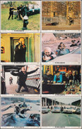 """Movie Posters:Action, The French Connection (20th Century Fox, 1971). Fine/Very Fine. Lobby Card Set of 8 (11"""" X 14""""). Action.. ... (Total: 8 Items)"""