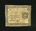 Colonial Notes:Pennsylvania, Pennsylvania October 25, 1775 2s Choice New. Bold signatures arefound on this well preserved note signed by Chas. Jervis, P...
