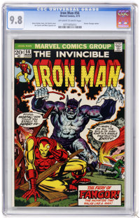 Iron Man #56 (Marvel, 1973) CGC NM/MT 9.8 Off-white to white pages