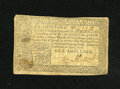 Colonial Notes:Pennsylvania, Pennsylvania April 10, 1777 1s Fine. This note is from the varietythat was printed in all black ink....