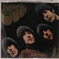 "Music Memorabilia:Recordings, Beatles ""Rubber Soul"" Sealed Stereo LP (Capitol 2442, 1965).Pristine sealed copy of an album often cited as the Beatles' al..."