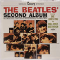 "Music Memorabilia:Recordings, ""The Beatles' Second Album"" Sealed Stereo LP (Capitol 2080, 1964).Meet The Beatles and Introducing The Beatles were..."