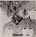 "Music Memorabilia:Recordings, Beatles ""Revolver"" Sealed Stereo LP (Capitol 2576, 1966). Thesignature portrait of this album is just about as iconic as th..."