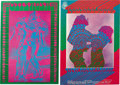 Music Memorabilia:Posters, Victor Moscoso Concert Poster Group (Family Dog/Neon Rose, 1967).If trippy visuals are your thing, look no further than thi...(Total: 2 )