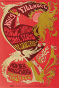 Music Memorabilia:Posters, Procol Harum/Pink Floyd Winterland Concert Poster, BG-92 (BillGraham, 1967). Here's a never-reprinted poster for the great...