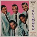 """Music Memorabilia:Recordings, """"The Nutmegs"""" EP (Herald 452, 1960). The vocal group's success camein 1955, just as many R&B acts began to enjoy crossover ..."""