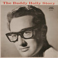 """Music Memorabilia:Recordings, """"The Buddy Holly Story"""" EP (Coral 81182, 1959). Released just afterBuddy's death, this EP included the songs from his last ..."""