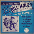 """Music Memorabilia:Recordings, Bill Haley and the Comets """"For Your Dance Party"""" EP (Essex 102,1954). One of the songs here, """"Crazy Man Crazy"""", was the gro..."""