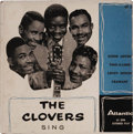 Music Memorabilia:Recordings, Clovers EP Group of 2 (Atlantic, 1954-55). From 1951-56, the great vocal group had 19 Top Ten R&B hits, including three that... (Total: 2 Items)