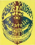 Music Memorabilia:Posters, Gladys Knight and the Pips Anderson Theater Concert Handbill(1969). Even though Motown superstars Gladys Knight and the Pip...