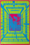 "Music Memorabilia:Posters, Jefferson Airplane ""Trips Festival"" Richmond Arena Concert Poster(1967) Bob Masse designed one of the ultimate psychedelic ..."