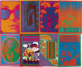 Music Memorabilia:Posters, Neon Rose Concert/Event Poster Group (Neon Rose, 1966-68). ArtistVictor Moscoso began his own poster business in 1966 by of...(Total: 8 )