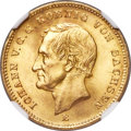 German States:Saxony, German States: Saxony. Johann gold 20 Mark 1872-E MS66 NGC,...