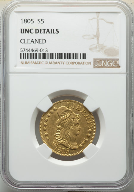 1805 $5 60 Details NGC