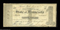 Obsoletes By State:Minnesota, St. Paul, MN- State of Minnesota $1 Mar. 20, 1858 Rockholt ...
