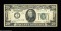 Error Notes:Inverted Reverses, Fr. 2050-A $20 1928 Inverted Reserve Federal Reserve Note. ...