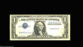 Error Notes:Inverted Third Printings, Fr. 1608 $1 1935A Silver Certificate. Extremely Fine. ...