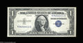 Error Notes:Inverted Third Printings, Fr. 1614 $1 1935E Silver Certificate. Gem Crisp Uncirculated....