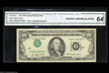 Error Notes:Inverted Third Printings, Fr. 2168-J $100 1977 Federal Reserve Note. Choice Crisp ...