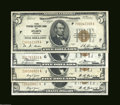 Small Size:Federal Reserve Bank Notes, A Group of Four Federal Reserve Bank Notes