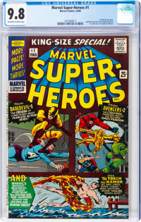 Marvel Super Heroes #1 (Marvel, 1966) CGC NM/MT 9.8 Off-white to white pages