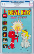 Bronze Age (1970-1979):Cartoon Character, Devil Kids Starring Hot Stuff #60 (Harvey, 1973) CGC NM/MT 9.8 Off-white to white pages....