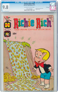 Bronze Age (1970-1979):Cartoon Character, Richie Rich #104 File Copy (Harvey, 1971) CGC NM/MT 9.8 Off-white to white pages....