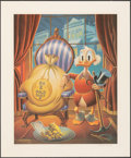 """Movie Posters:Animation, Till Death Do Us Part by Carl Barks (Another Rainbow, 1983). Rolled, Very Fine+. Signed Limited Edition Lithograph (20"""" X 24..."""
