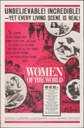"""Movie Posters:Documentary, Women of the World & Other (Embassy, 1963). Folded, Fine/Very Fine. One Sheets (2) (27"""" X 41""""). Documentary.. ... (Total: 2 Items)"""