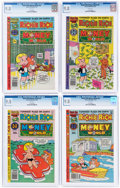 Bronze Age (1970-1979):Cartoon Character, Richie Rich Money World #39 and 41-44 CGC-Graded Group (Harvey, 1979-80) CGC NM/MT 9.8.... (Total: 5 Comic Books)