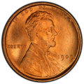 Lincoln Cents, 1909 1C MS67 Red PCGS. PCGS Population: (84/0 and 15/0+). NGC Census: (6/0 and 0/0+). CDN: $1,400 Whsle. Bid for NGC/PCGS M...