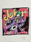 Works on Paper, Anthony Lister (b. 1979). Untitled (Joker/The Shade), double-sided, 2018. Marker, acrylic, and pen on paper. 7-1/2 x 5-1...
