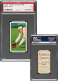Baseball Cards:Singles (Pre-1930), 1909-11 T206 Carolina Brights Fred Beck PSA VG 3 - Pop One, One Higher For Brand. ...